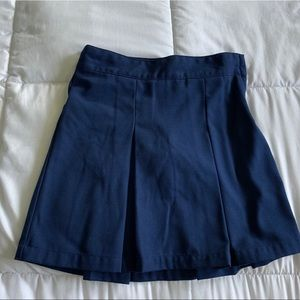 Cat and Jack pleated uniform skirt with shorts